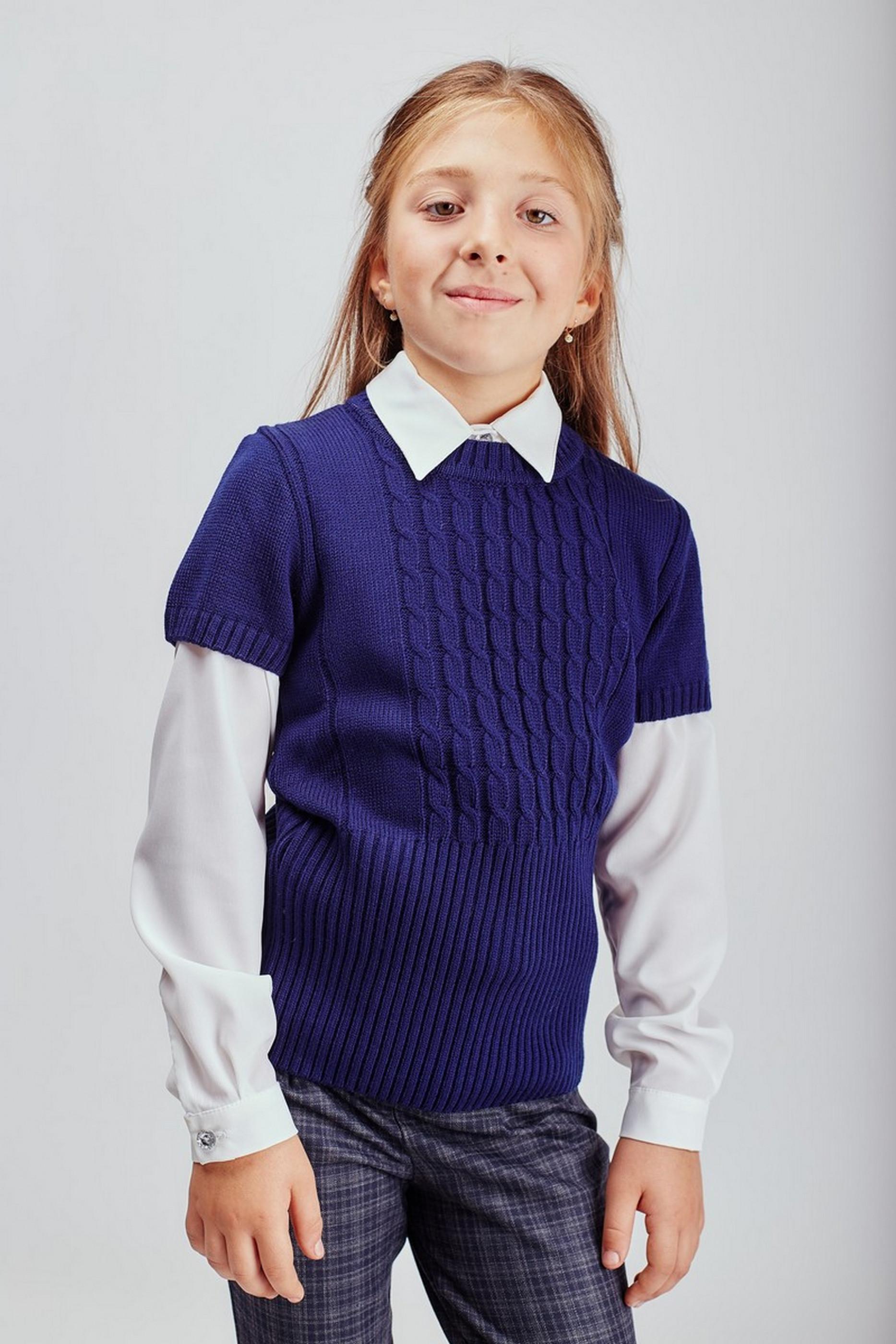 Кофтинка з коротким рукавом, фото №1